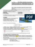 CI6 Schemas Hydrauliques Et Pneumatiques