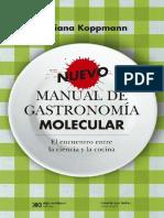 Koppmann, Mariana. 2011. Nuevo Manual de Gastronomía Molecular. (2015)