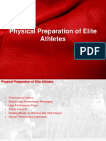 Physical Preparation of Elite Athletes