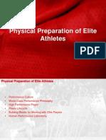 Physical Preparation of Elite Athletes