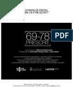 DOSSIER DE PRENSA CAST prescrit1