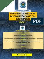 MODULO VI SEGURIDAD EN LAS COMUNICACIONES