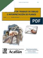 CUADERNO DE TRABAJO DE DIBUJO  2019-1