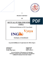 MUTUAL FUNDS INDUSTRIES