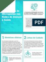 PDF Cartilha explicativa - Ferramentas de Microgestão nas Redes de Atenção à Saúde