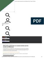 Descubra quais são as causas da tela azul da morte no Windows _ Dicas e Tutoriais _ TechTudo