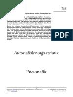 Pneumatik-Zusammenfassung+Aufgaben