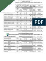 Calendário CBHb 2011