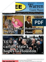The Early April, 2011 edition of Warren County Report