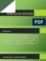 DERECHO PETICION 1
