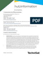 Infoblatt Datenschutz_V1 - Digitradio 3699 IR CD