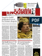 The Pan-Arabia Enquirer - The World's Only 7-Star News Source, April 1 2011