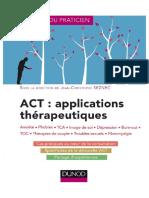 ACT - Applications Thérapeutiques-2019