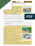 P. S- Identificamos riesgos de los fenómenos naturales