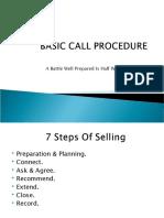 BASIC CALL PROCEDURE