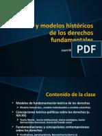 Historia y Modelos Históricos de Los Derechos Fundamentales 2018