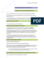 Guía De Orientación 2º Bachillerato Jaén Pdf Desarrollo