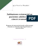 Sufrimiento existencial en pacientes adultos con cáncer avanzado