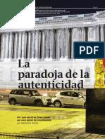 Ibarra, H (2015) La Paradoja de la Autenticidad. HBSP