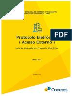 Guia de Operacao Do Protocolo Eletronico