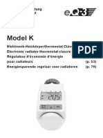 Radiátor Manual