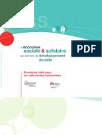 L'ESS au service du développement durable - ARENE ATELIER 2011