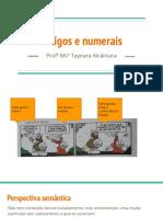 Artigos e numerais