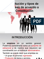 PPT Constitucion y Tipo Empresa