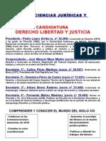 Cartel SECCIÓN DE CC JJ