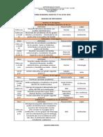 26. Agenda Semanal Agosto 17 Al 20 de 2021