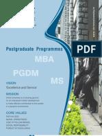 PGDM & MBA BROCHURE