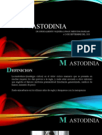 MASTODINIA