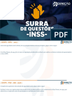 Surra de questões INSS Direito Previdenciário - Thamiris Felizardo