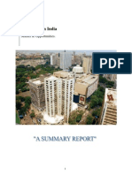 Report on Real Estate in India
