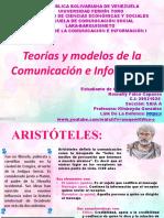 Teorías y modelos de la Comunicación e Información