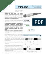 Sensor de Nivel Presion Aep Tpl2c