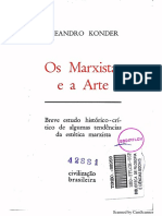 Os Marxistas e A Arte by Leandro Konder (z-lib.org)