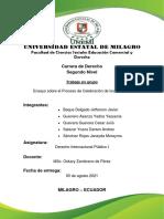 ENSAYO-PROCESO DE CELEBRACION PARA LOS TARATADOS INTERNACIONALES (1)