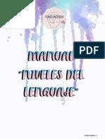 Manual 'Niveles del lenguaje'
