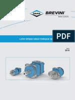 Technical Catalogue Low Speed High Torque Orbital Motors