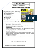4. Management Fatifue atau kelelahan