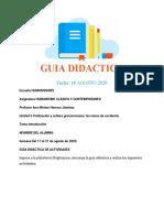 GUIA DIDACTICA 2 CULTURA