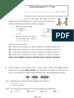 Resolução Ficha de Revisoes 4 - 7º Ano