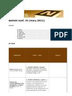 BiblioNews núm. 41 (marc 2011)