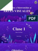 Clase 1 Artes Visuales, 18 de mayo