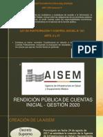 Rendicion Publica de Cuentas Inicial 2020