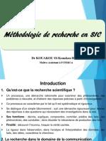 Methodologie de recherche (OK)