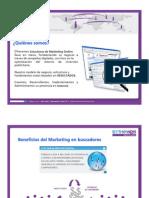 ByTheWeb Digital Marketing Presentación Institucional