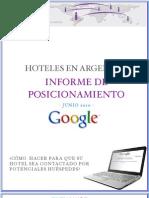 ByTheWeb - Informe Posicionamiento de Hoteles en Argentina