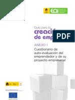 Guía para la Creación de Empresas 2010 - Anexo I
